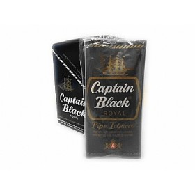 FUMO CAPTAIN BLACK ROYAL caixa com 6 bolsas