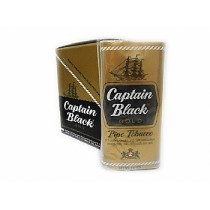 FUMO CAPTAIN BLACK GOLD caixa com 6 bolsas