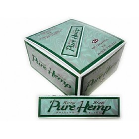 SEDA SMOKING PURE HEMP KING SIZE caixa com 50 livretos