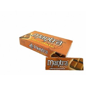 SEDA MANTRA MINI SIZE AROMA DE CHOCOLATE caixa com 25 livretos