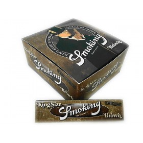 SEDA SMOKING BROWN KING SIZE caixa com 50 livretos