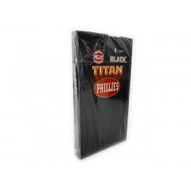 CHARUTO PHILLIES TITAN BLACK caixa com 5 charutos