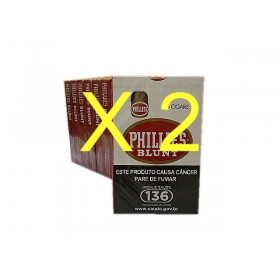2 PACOTES CHARUTO PHILLIES BLUNT 10x5 cada pacote