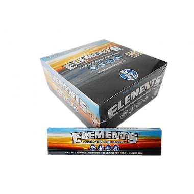 SEDA ELEMENTS REGULAR KING SIZE caixa com 50 livretos
