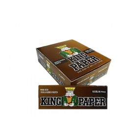 SEDA KING PAPER BROWN MINI SIZE caixa com 20 livretos